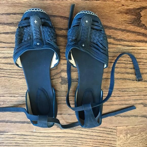 Antik Batik Shoes - Antik batik leather espadrille sandals